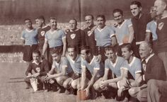 F.I.F.A. World Cup Champion 1950 ( Uruguay)