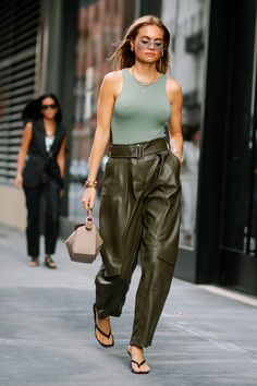Jumpsuits Were a Street Style Must-Have on Day 5 of New York Fashion Week - Fashionista