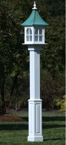 Lamp posts residential mayne posts signature lamp post in white custom crafted outdoor light fixture with traditional style in aged patina or shiny copper roof components are manufactured on a cnc router to ensure aloadofball Choice Image