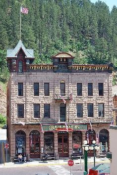Bullock Hotel - Deadwood. Haunted.