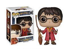 Harry Potter en robe de Quidditch