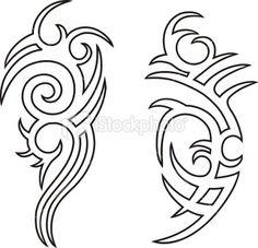 b3526b997f563 maori tattoos and anatomy. Tattoomaze · Tribal Tattoos Outline Designs