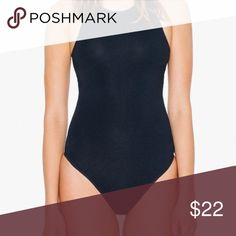 Mock neck bodysuit top Amazing quality,  halter cut, a most this year. Tops Tees - Short Sleeve