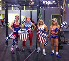 American Gladiators | Kostüm-Idee für Gruppen zu Karneval, Halloween & Fasching