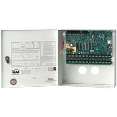 Leviton Security & Automation Omni Lte Controller In Enclosure Security Surveillance, Surveillance System, Gadget World, System Camera, Wireless Security, Security Alarm, Home Network, Latest Gadgets, Home Security Systems