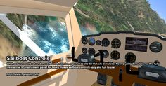 Play #sailboatrace simulator with Vehicle Simulator from Quality Simulations and enjoy sailing in 3D graphics. The photorealistic land and sea are based on real topographic data, which provide real like experience. Learn about the diverse marine life with this simulator game. Buy today or try demo version before buying. For more information: - http://www.hangsim.com/  Or call :- +972547641495
