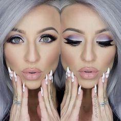 Gorgeous! Lashes are Voila Lash by @ESQIDO. http://esqido.com. #mua #makeup #falseeyelashes #lashes #stunning