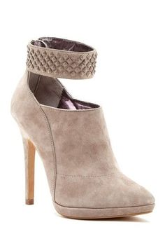 This studded ankle wrap bootie is a fun twist on a classic look!