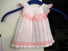 Ravelry: CrochetAmy's Angel Wings Pinafore