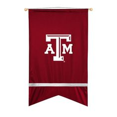 Texas A&M Aggies Sidelines Ribbon Style Wall Flag