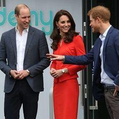 Duke and Duchess of Cambridge and Prince Harry open Global Academy