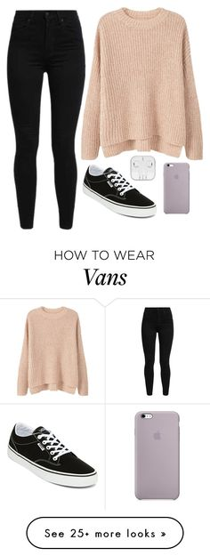 """""""Kate #1"""" by marsophie on Polyvore featuring Levi's, MANGO and Vans"""