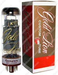 www.thetubestore.com - Genalex - Gold Lion KT77 Audio Tubes