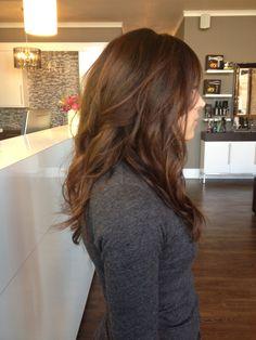 Fall brown hair#studiobesalon#longhair#color
