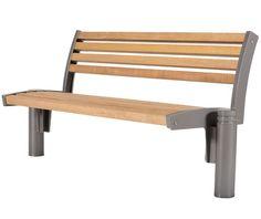 Guyon mobilier urbain banc bois aron modele banci for Mobilier exterieur bois