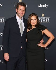 Pin for Later: 17 Celebrities Who Got Married Later in Life  Mariska Hargitay wed actor Peter Hermann in August 2004 when she was 40 years old.