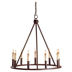 I pinned this Florentine Chandelier from the Currey & Company event at Joss and Main!