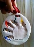 handprint christmas crafts - Google Search