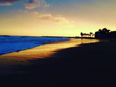 Atardecer playa de Villajoyosa