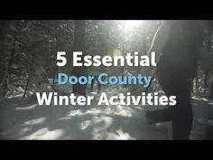 5 ESSENTIAL Door County Winter Activities - YouTube