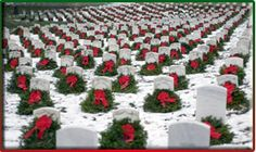 Laying of wreaths-Worcester Wreath Company of Harrington Maine donates these wreaths at Arlington Cemetery