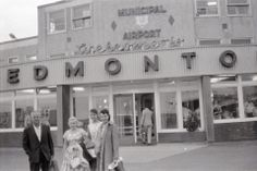Municipal Airport. Old Photos, Vintage Photos, I Am Canadian, Alberta Canada, Back In The Day, Historical Photos, Calgary, Photo Cards, Nostalgia