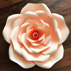 PDFPetal 155 Exquisite ROSE Flower Template with Base