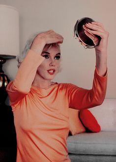 """ Marilyn Monroe photographed by George Barris, 1962. """