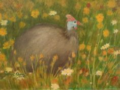 Guinea Fowl, Oil Paintings, Art, Art Background, Kunst, Oil On Canvas, Performing Arts, Art Oil, Art Education Resources