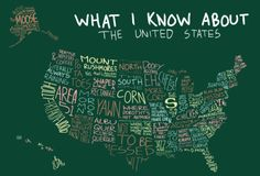 Funny sarcastic map