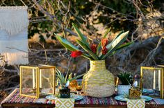 Warm Autumn, Fall Weather, Tribal Prints, Place Settings, Looking Stunning, Tablescapes, Glass Vase, Centerpieces, Texture