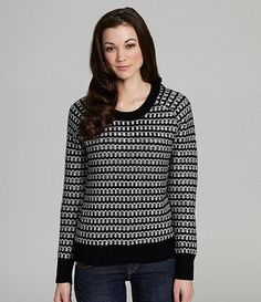 Available at Dillards.com #Dillards Bcbgeneration, Dillards, Polka Dot Top, Pullover Sweaters, My Style, Stylish, Blouse, Long Sleeve, Sleeves
