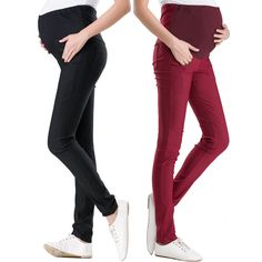 c5a2bdeb3eca 2017 New Casual Summer 2 Colors Pants For Pregnant Women Overalls Pregnancy  Pants Maternity Clothing
