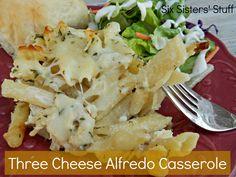 Three Cheese Alfredo Casserole