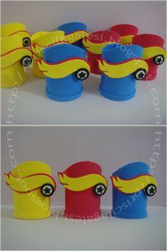Aventuras em E.V.A: Porta Guloseimas Hot Wheels !!!!!!