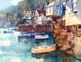 CHRIS FORSEY Bayards Cove  at the D'Art Gallery, Lower Street, #Dartmouth. www.bythedart.tv