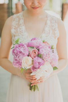 Peonies for days | Houston Wedding from Day 7  Read more - http://www.stylemepretty.com/texas-weddings/2013/09/12/houston-wedding-from-day-7/