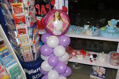 Colonna palloncini Violetta