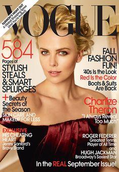 Charlize Theron by Mario Testino Vogue US September 2009