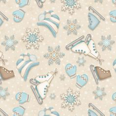 F6796-40 , I Still Love Snow 2 ply flannel by Shelly Comiskey of Simply Shelly Designs, Henry Glass & Co., Inc.