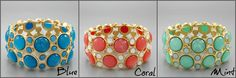 Crush Stretch Bracelet... LOVE these colors!