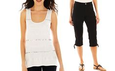 Our Savvy Style friends created 2 looks from #jcpenney under $100!