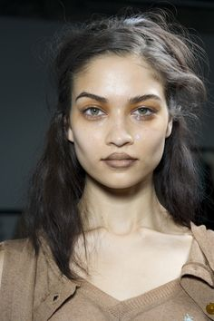 Make-up by Val Garland for MAC at Vivienne Westwood Gold Label AW12