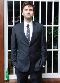 PHOTOS: David Tennant Attends The GQ 'Most Stylish' Party