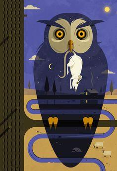 ilustración de Nicholas Little