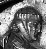 Elisabeth Church, Marburg, Germany  c. 1235  Fillet and barbette over a crespinette.
