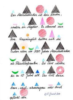 Funktion der Wortarten - Montessori - Anleitung zur Einführung und Übung des Materials aus den Bereichen Sprache, Mathematik und Kinderhaus