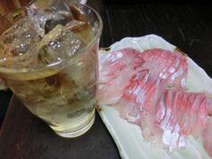 夏は冷たい焼酎と、新鮮な冷たい刺身!最高に幸せな晩酌です【よまたけさん☆夏の思い出】