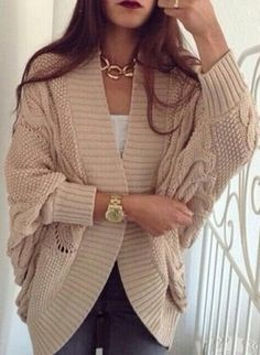 chunky oversized knitted boyfriend cardigan sweater shop christmas ...