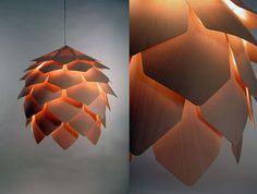 Clorofila Design: Iluminação >> Pinha Luminosa